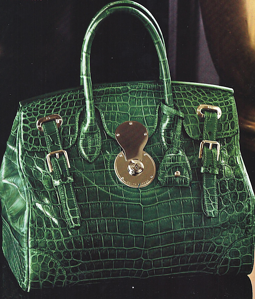 Alligator skin handbags are a hot commodity for high-fashion clients. Make your mark with your own alligator skin products.