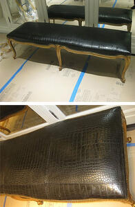 Leather Furniture says a lot, Exotic leather furniture says it all!