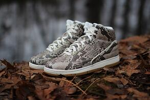 Nike made a splash with their own pair of python sneakers a while back.