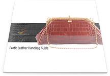 Exotic Leather Handbag Guide