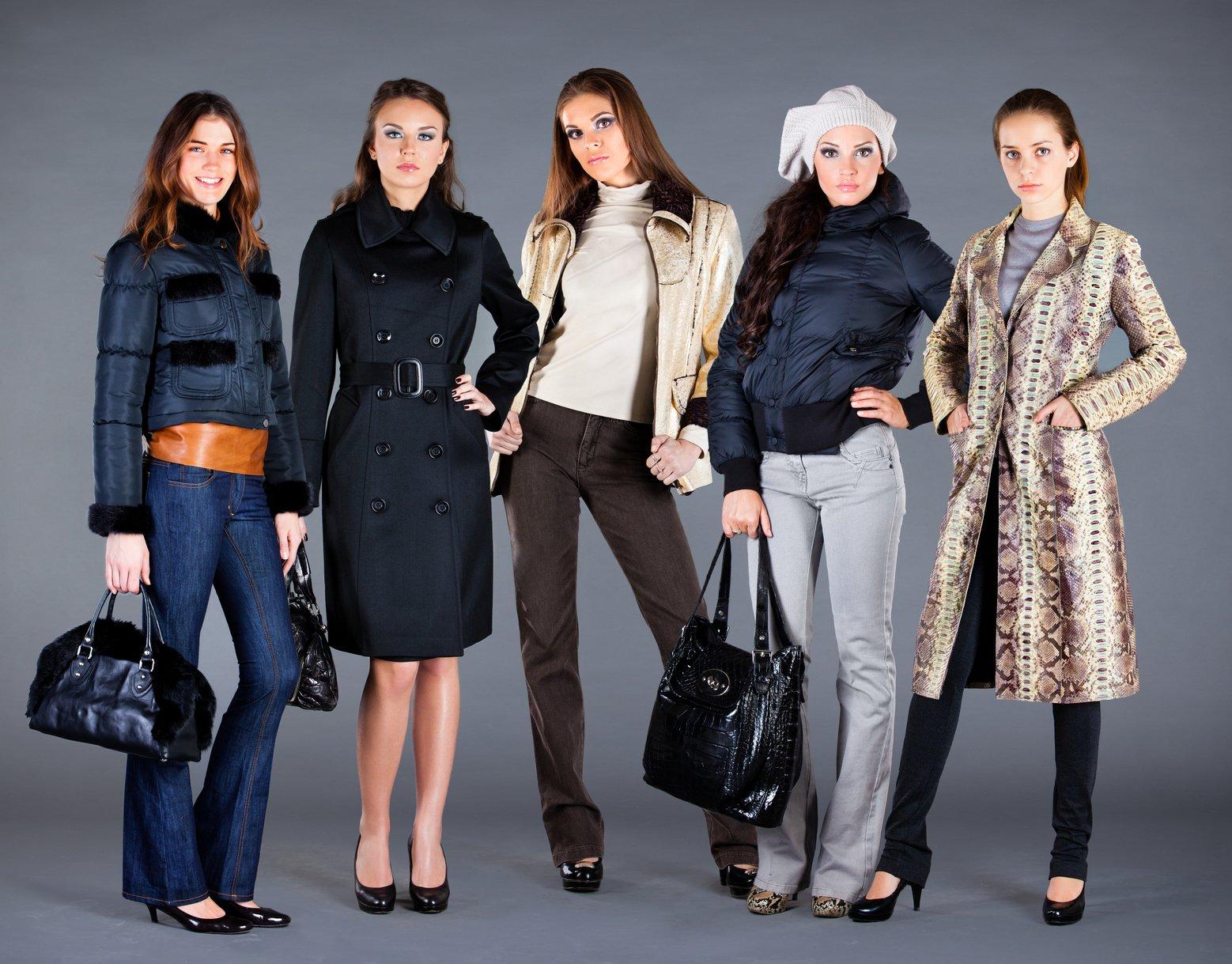 Женская Одежда Зима Осень 2015
