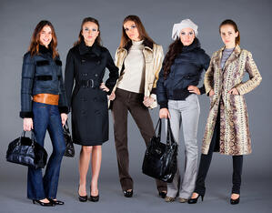 When creating a collection of clothes for any season or theme, coordinating accessories such as handbags is important.