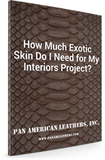 Exotic Skin for Interiors Project