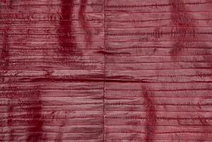 Eel skins are individually small, but can easily be stitched together to fill larger panels.