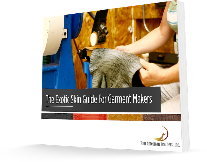 The Exotic Skin Guide for Garment Makers