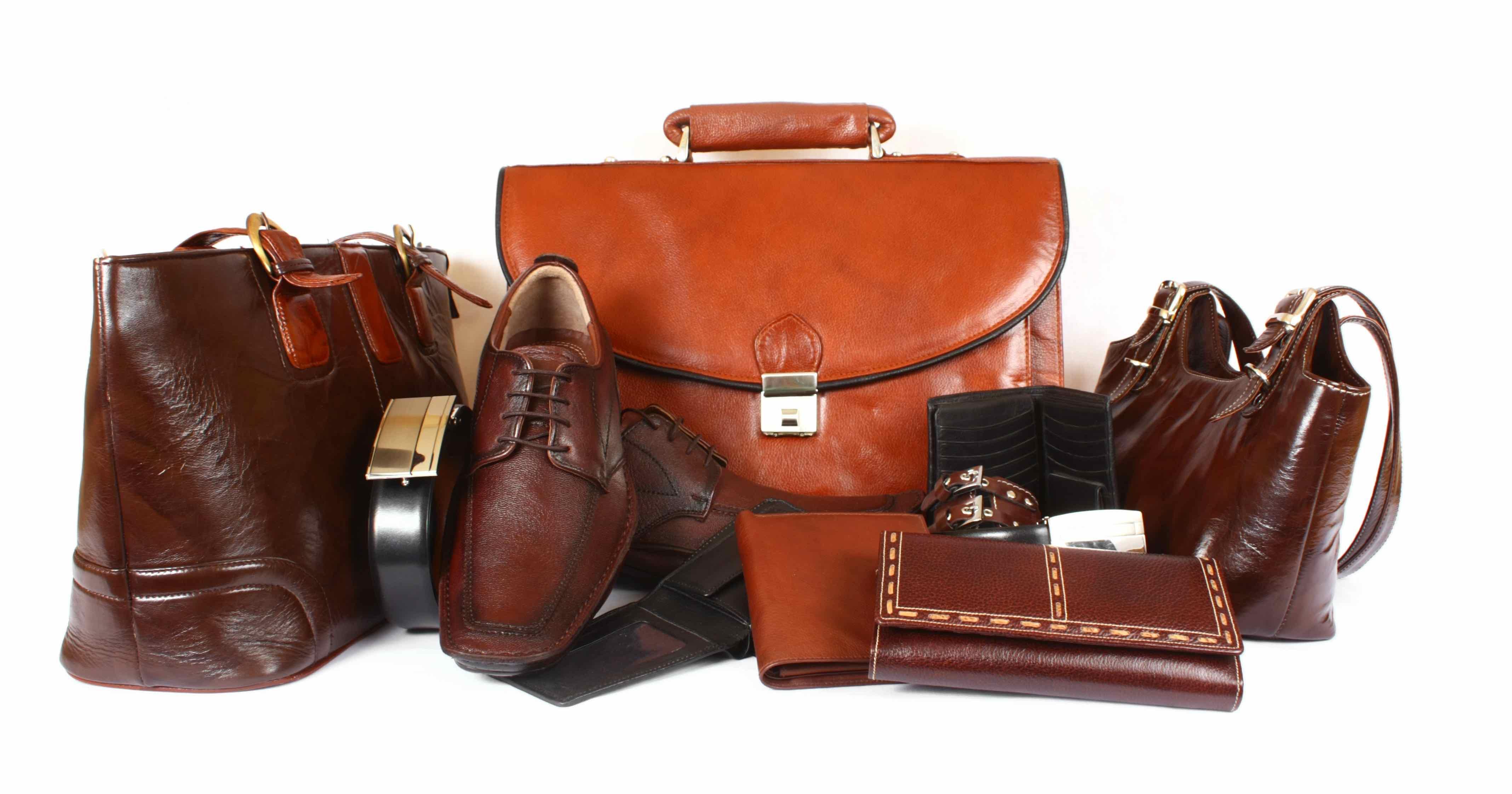 Leather Product Assortment Leathercraft Education