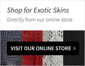 shop exotic leather