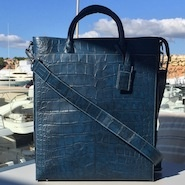 Exotic leather handbags should NEVER be kept out in the sun!