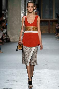 python skin outfit by proenza schouler