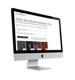 The Exotic Skin Recommendation Tool